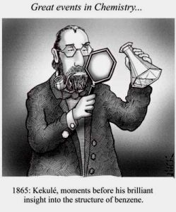Benzene and the founding scientist, Kekule