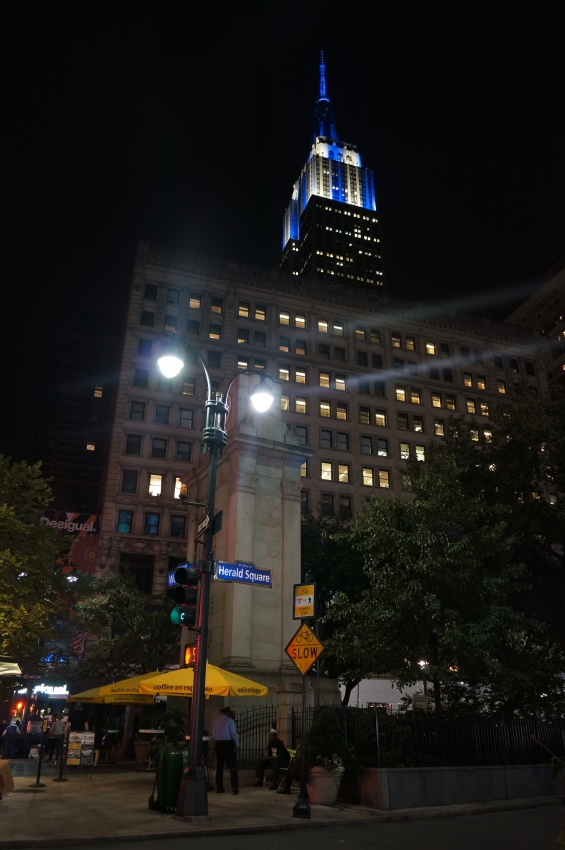 Empire State Building at Herald Square, New York, NY (2014)
