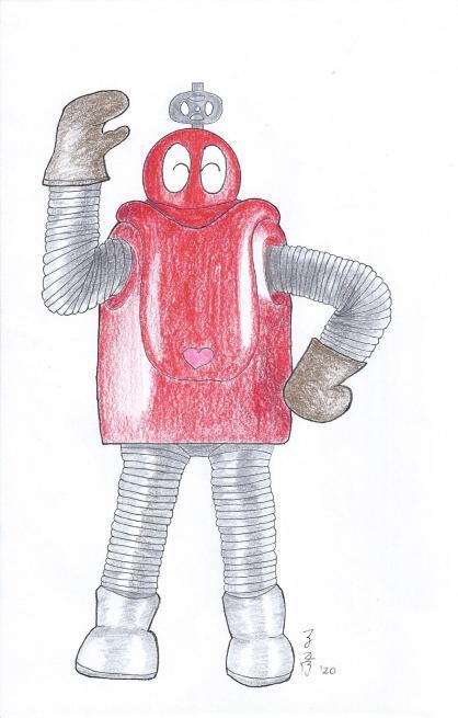 Robocon from Ganbare Robocon (小露宝)