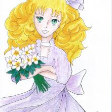 """Candice """"Candy"""" White from Candy Candy"""