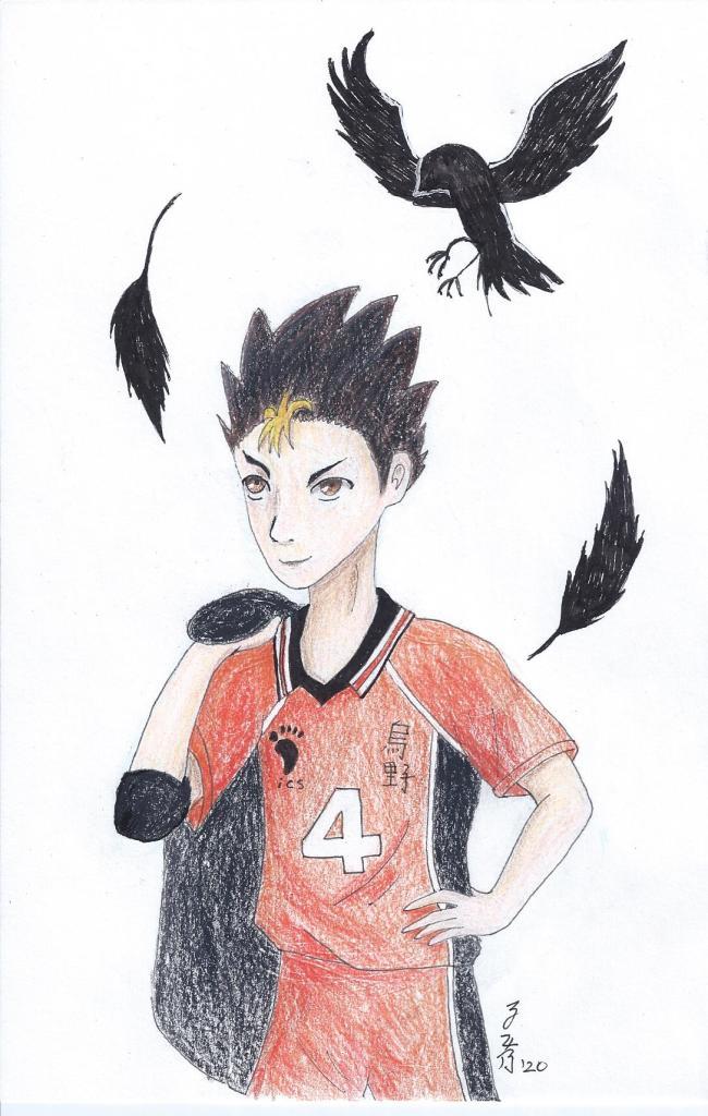 Yu Nishinoya (Hayikyuu) 8-2020