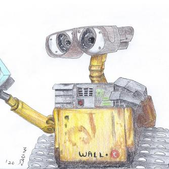 Time to save the world, Wall-E!