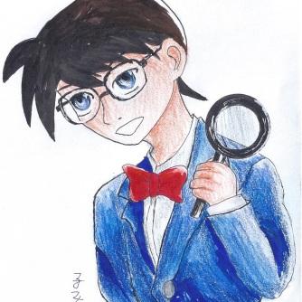Conan Edogawa from Detective Conan