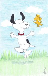 Snoopy and Woodstock 8-2020