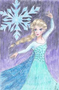 Elsa from Frozen (9-2020)
